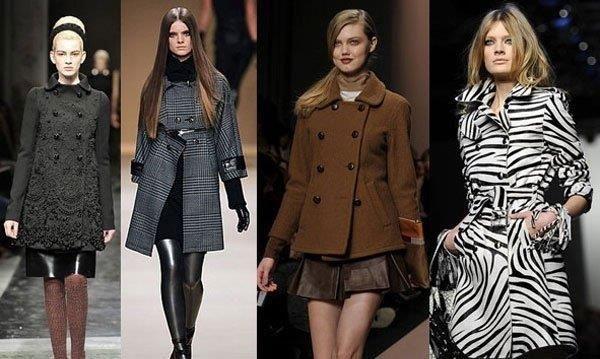 Модное пальто на нашем рынку
