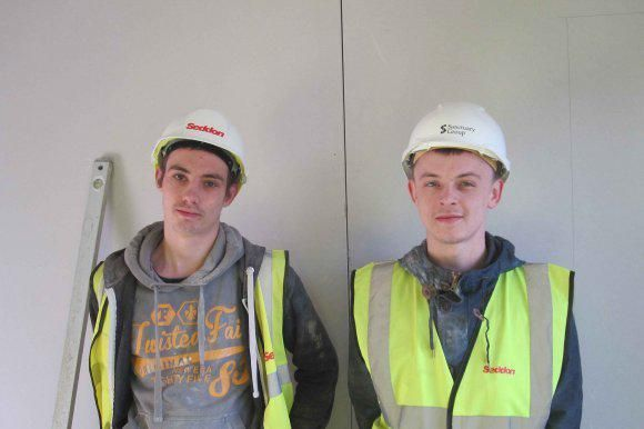 Hereford youngsters lay the foundations of their career http://www.24dash.com/news/education/2015-01-21-Hereford-youngsters-lay-the-foundations-of-their-career…