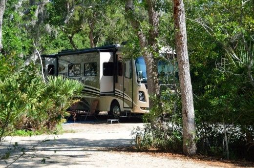 Best RV and tent camping along I-95 in Northeast Florida