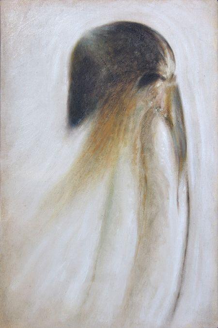 Il medico della Peste - Oil on canvas - 30x20 cm - 2011 - Alessio Pierro
