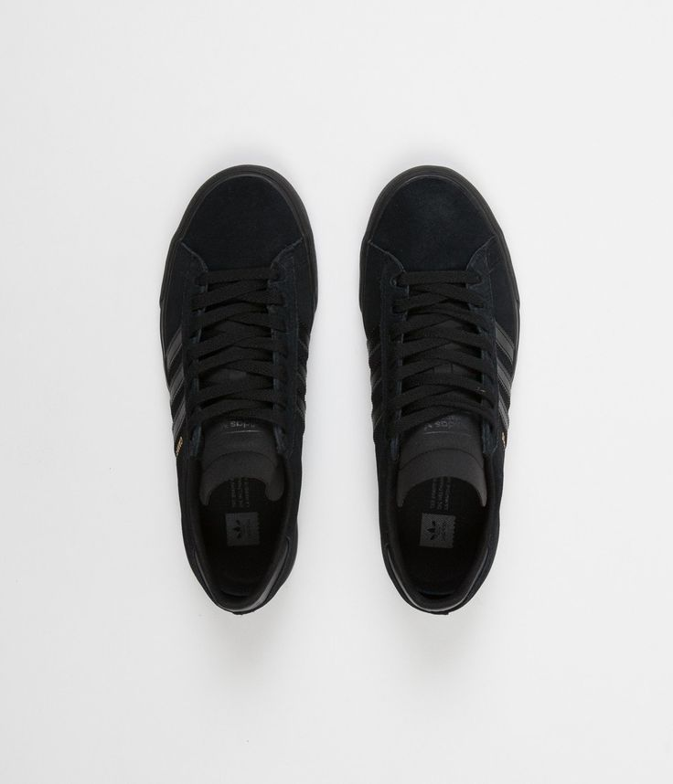 Adidas Campus Vulc II Shoes - Core Black / Core Black / Core Black
