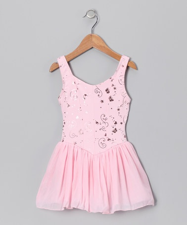 Take a look at this Pink Whimsical Princess Tutu Dress - Toddler & Girls by Capezio on #zulily today!