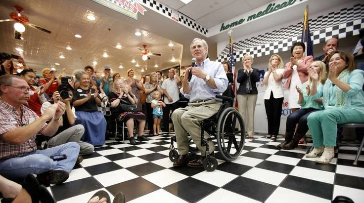 Greg Abbott Responds to Wendy Davis Supporters' Mocking of His Wheelchair in the Classiest Way