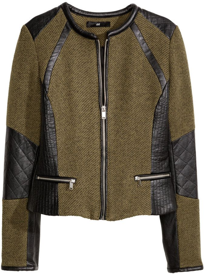 Green Fitted Jacket - JacketIn