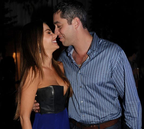 Sofia Vergara was in high spirits as she and fiancé Nick Loeb partied the night away at the Delano Hotel in Miami, Florida this New Years'