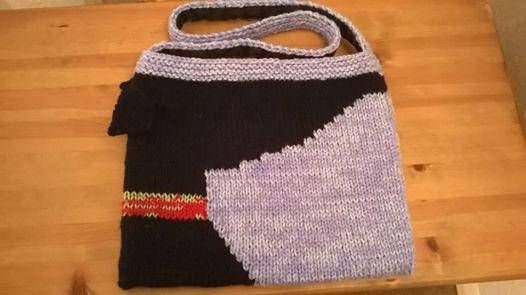 64cfef8d3c4 Greyhound Silhouette Bag Knitting Pattern Download