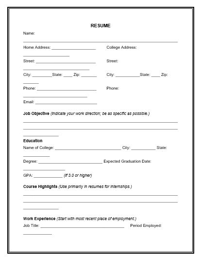 Appointment Setter Resume. Best 25+ Resume Form Ideas On Pinterest