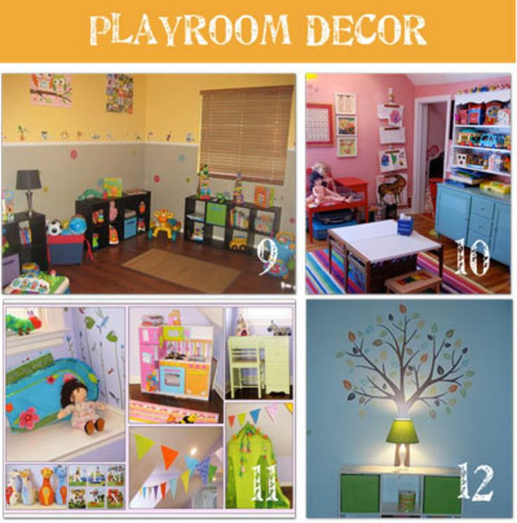 Cute Playroom Ideas Kids Room Inspiration Pinterest