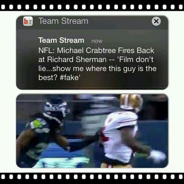 Sherman apparently doesn't know the definition of the BEST!!!