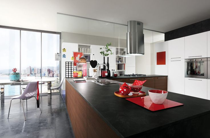17+ best images about Cucina Moderna Slim - Modern kitchen on Pinterest  Kitchen modern and ...