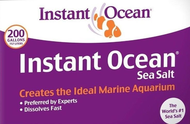 Other Fish and Aquarium Supplies 8444: Salt Mix Instant Ocean 50-200 Gallon For Marine Saltwater Aquarium Fish Tank -> BUY IT NOW ONLY: $46.99 on eBay!