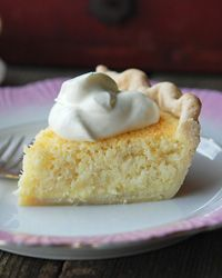 Coconut Custard Pie - On my favorite things... I do add freshly greound ginger though... still, this recipe sounds awesome!