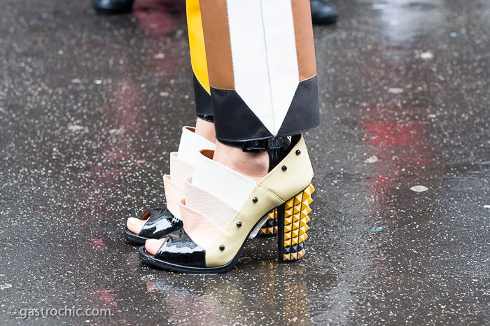 Rainy Day Look - Fendi shoes