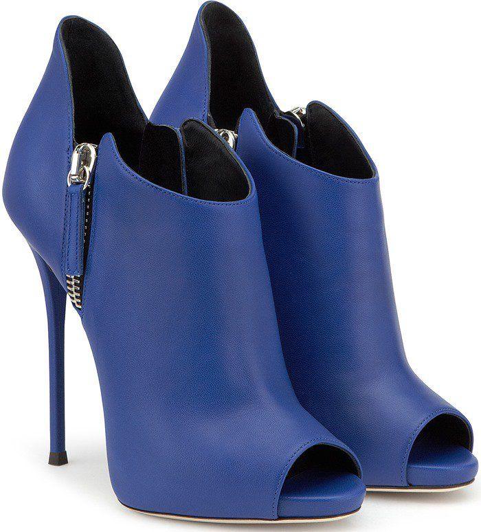 Giuseppe Zanotti Design 'Malika' Booties in Blue
