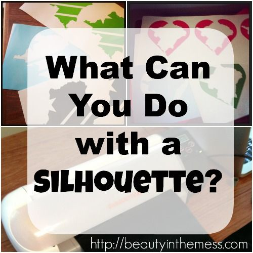 What Can You Do With a Silhouette Cameo? She'll tell you!