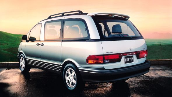 History of the Toyota Previa - Toyota