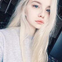 голубые глаза, кукла, девушка, Tumblr, белые волосы.