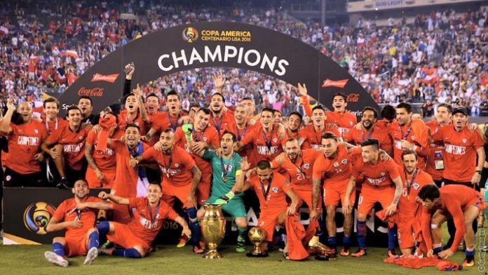 Alexis and Chile: Copa America Centenario champions