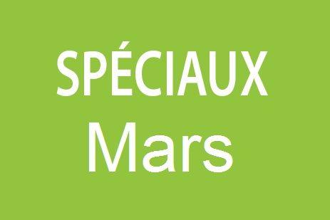 Spéciaux Mars 2015