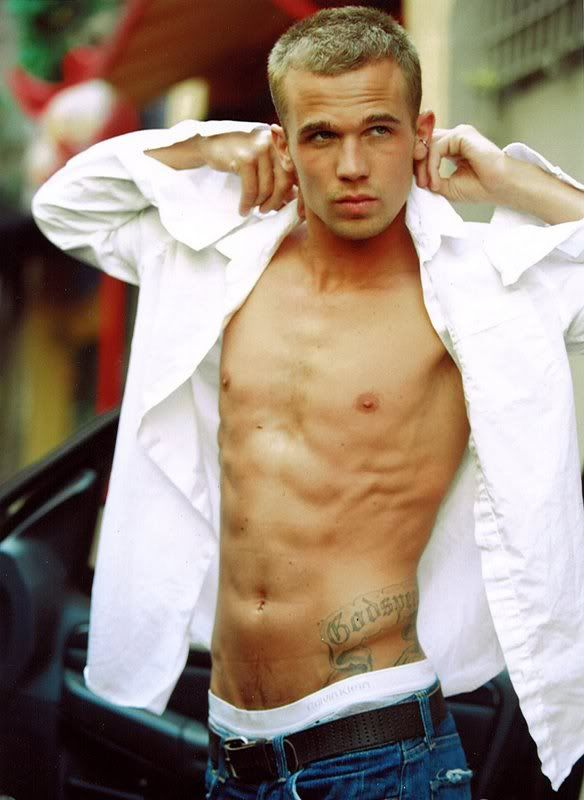 Cam Gigandet, Jack in Burlesque (cause so far he's the only likeable character I have seen)