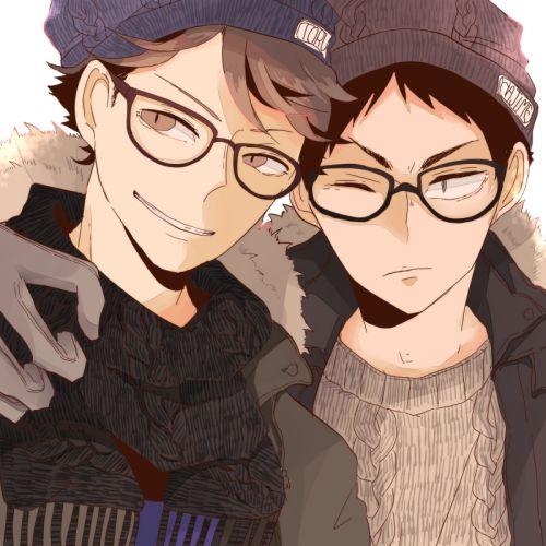 Haikyuu!! / Oikawa & Iwaizumi
