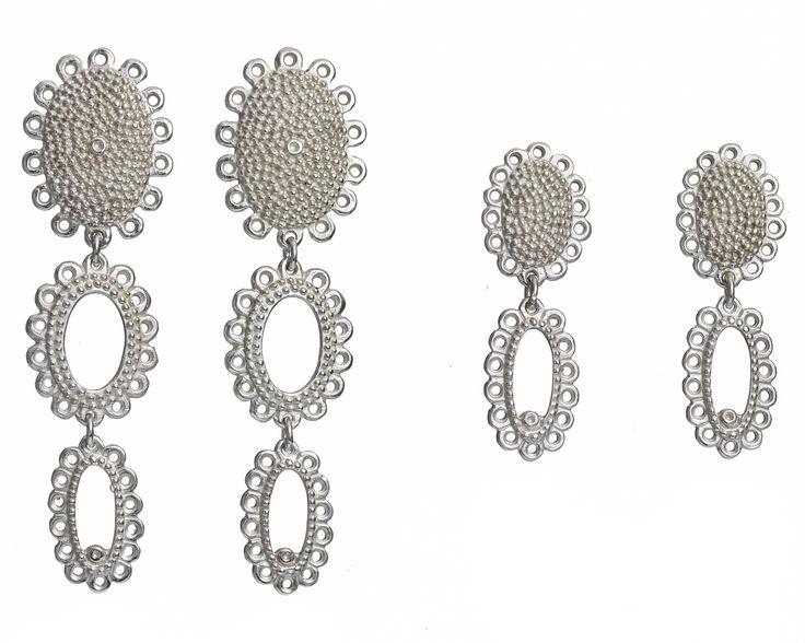 Catherine Hills - Baroque Drop Earrings