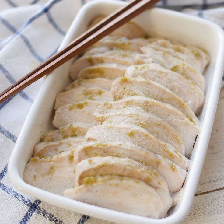 【作り置き】買うよりウマい!? 炊飯器でしっとり「ゆず塩サラダチキン」 - macaroni