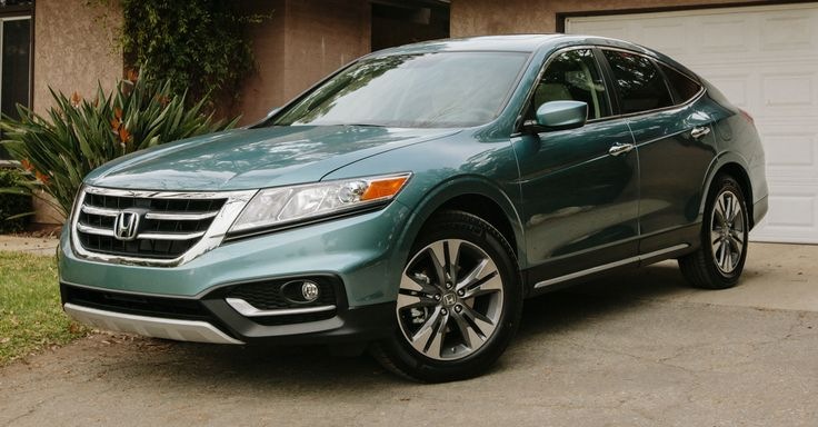 A Crosstour is a great addition to any driveway. #car #honda