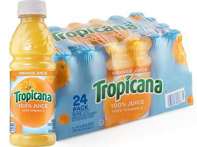 Tropicana Orange Juice 24 Pack