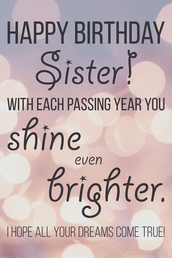 150 Happy Birthday Wishes For Sister Find The Perfect Quote Or