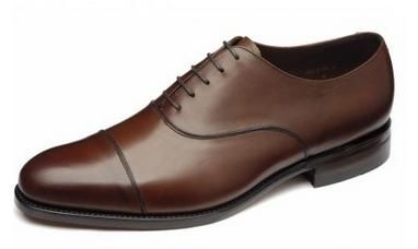 Loake Holborn is made on a G fitting last shape, this gives flexibility.  Available in classic Black Calf or rich Mahogany Burnished Calf.    http://www.robinsonsshoes.com/loake-holborn.html