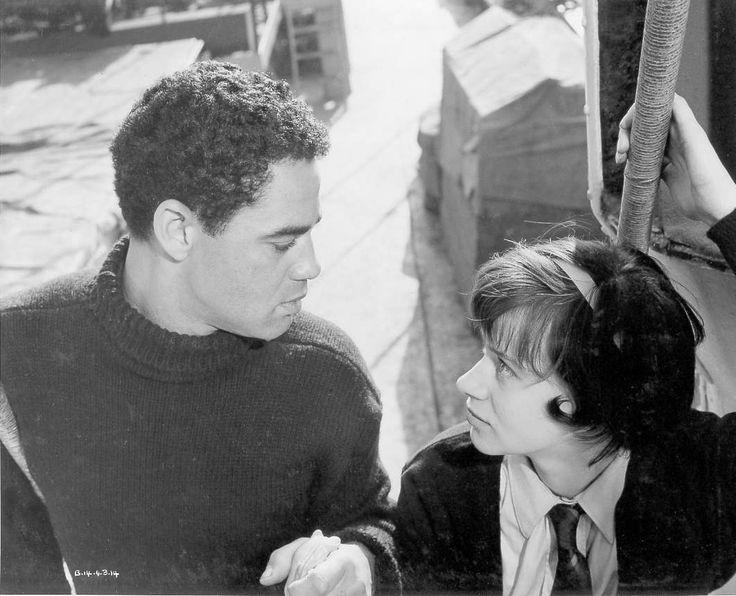 Paul Danquah & Rita Tushingham in 'A Taste of Honey' (1961), a screen debut for both