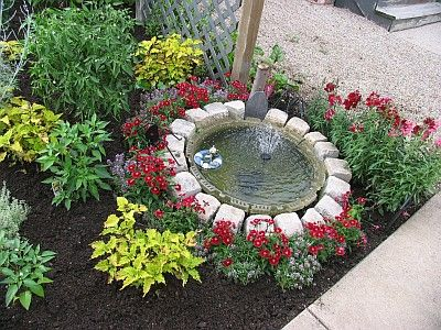 137 best images about water fountains for the yard on for Front garden feature ideas