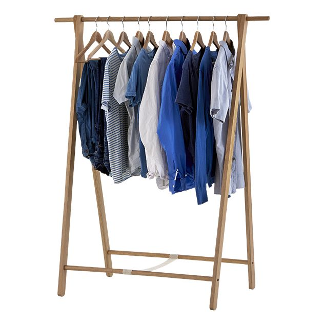 Bowthorpe Solid Oak Clothes Rail from Bluesuntree £150