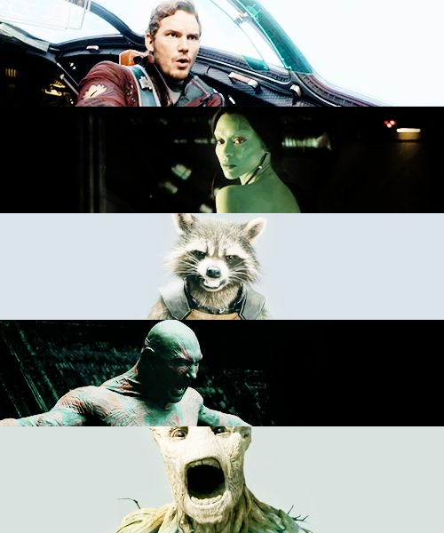 Guardians of the Galaxy!! Can't wait to see this movie!!