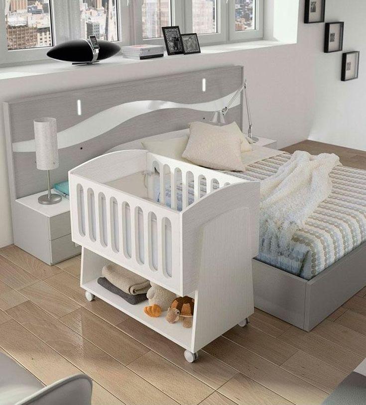 ¿Crear un cuarto para el bebé en tu dormitorio principal? ¡Si!
