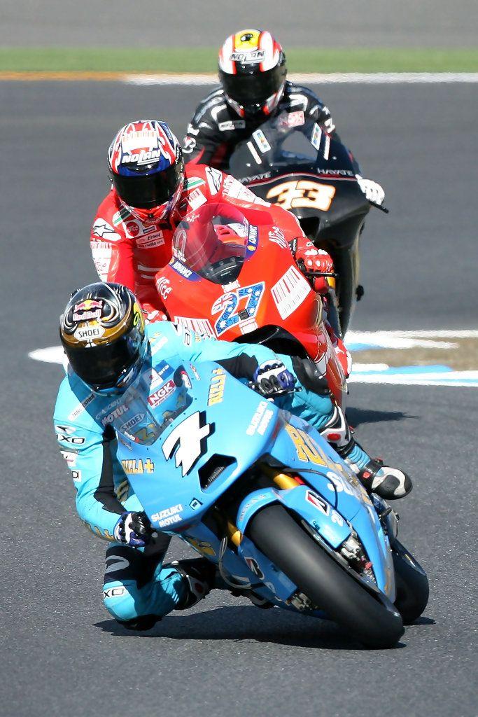 Nice Suzuki GSV R Rizla With Chris Vermeulen , And Casey Stoner [Ducati  Marlboro]. Motogp ...