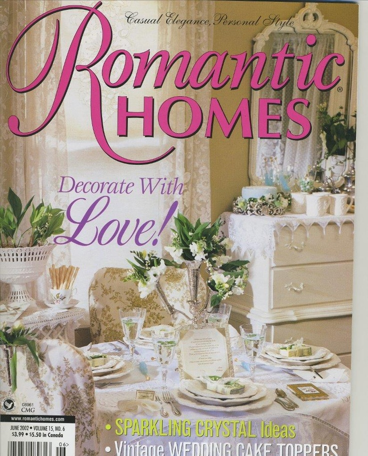 21 best romantic country home magazine images on pinterest for Country cottage magazine