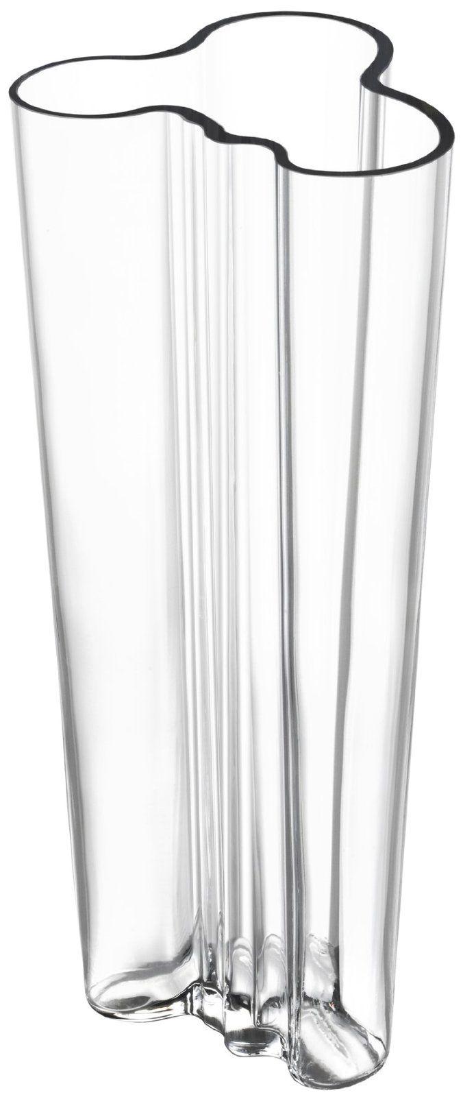 iittala Alvar Aalto Finlandia Vase, Clear | Free Shipping