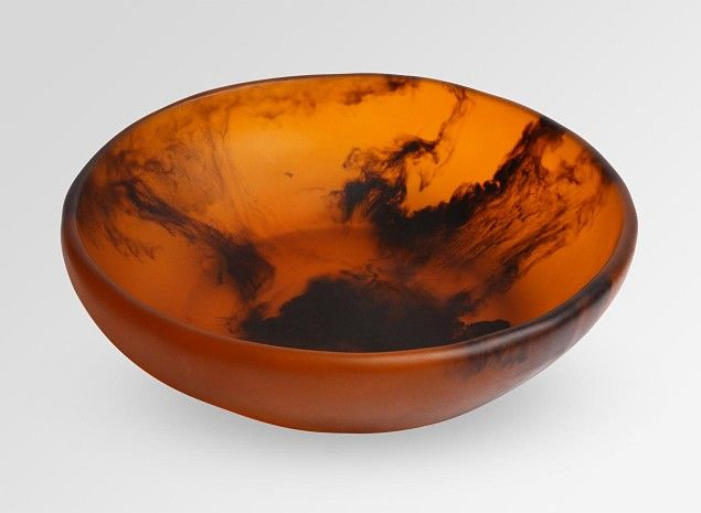Large Salad Bowl - Tortoiseshell
