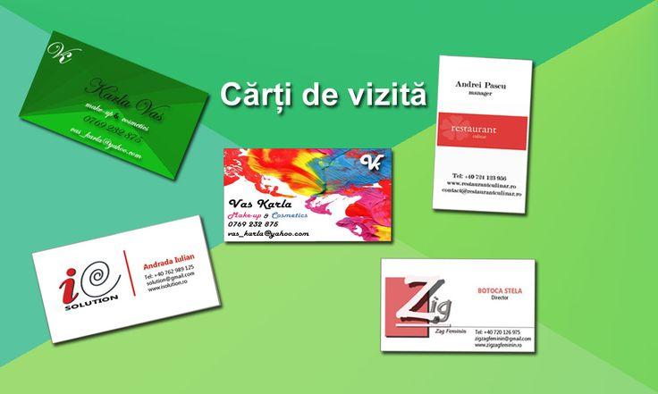 Identitatea vizuală a unei companii este foarte importantă!!! Tocmai de aceea vă oferim servicii de concepere a acestor elemente grafice: logo, carți de vizită, pliante, afișe, foi cu antet și multe altele!!! Dacă le printați la noi, grafica e gratis :)