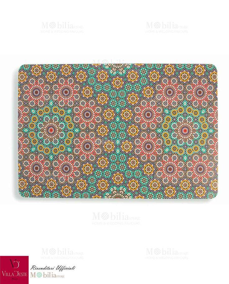 Set 6 Tovagliette, dona alla tavola colore ed allegria con queste bellissime tovagliette Marrakech. Scopri le novità su Mobilia Store.