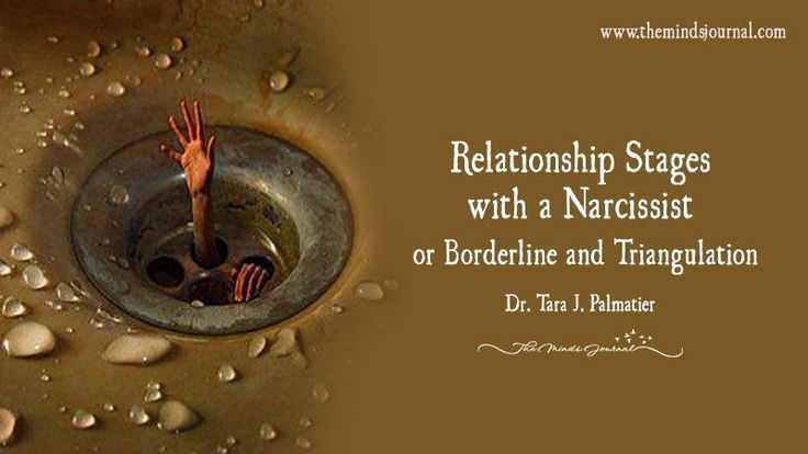 Relationship Stages With A Narcissist Or Borderline And Triangulation - http://themindsjournal.com/relationship-stages-narcissist/