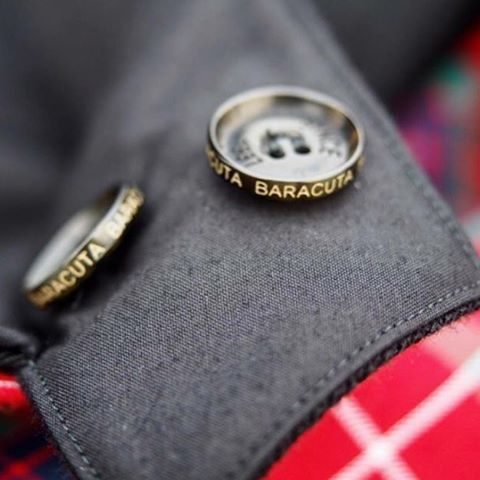 The emblem of fine craftsmanship #Baracuta @ramblinworker
