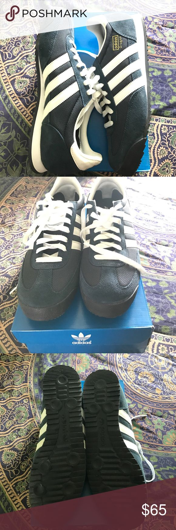 Adidas Dragon Blue adidas dragon new with box never been worn. Adidas Shoes Sneakers
