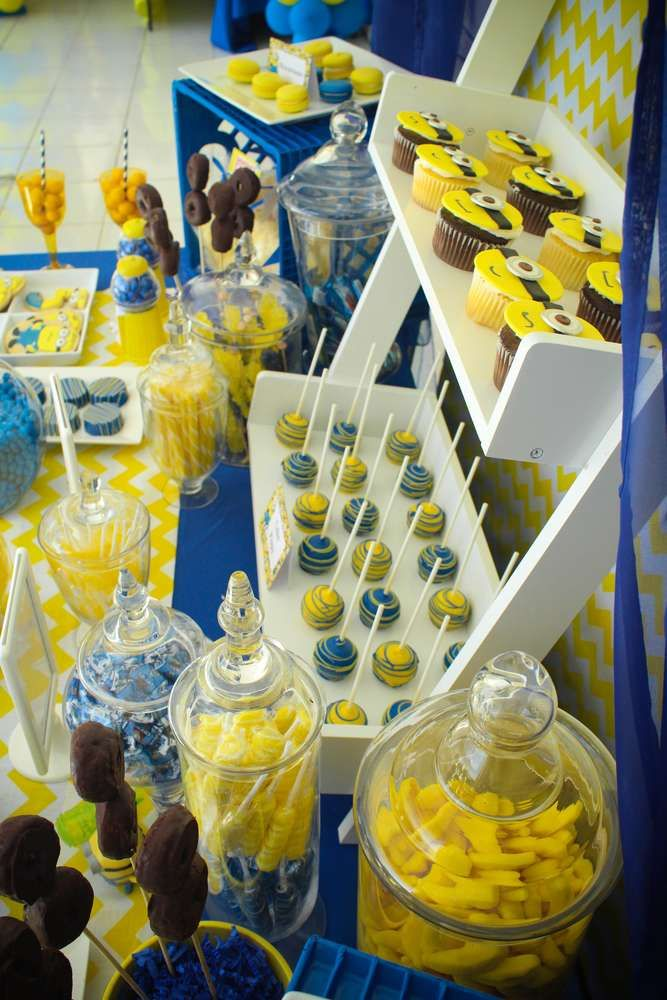 Minions Birthday Party Ideas   Photo 28 of 49   Catch My Party