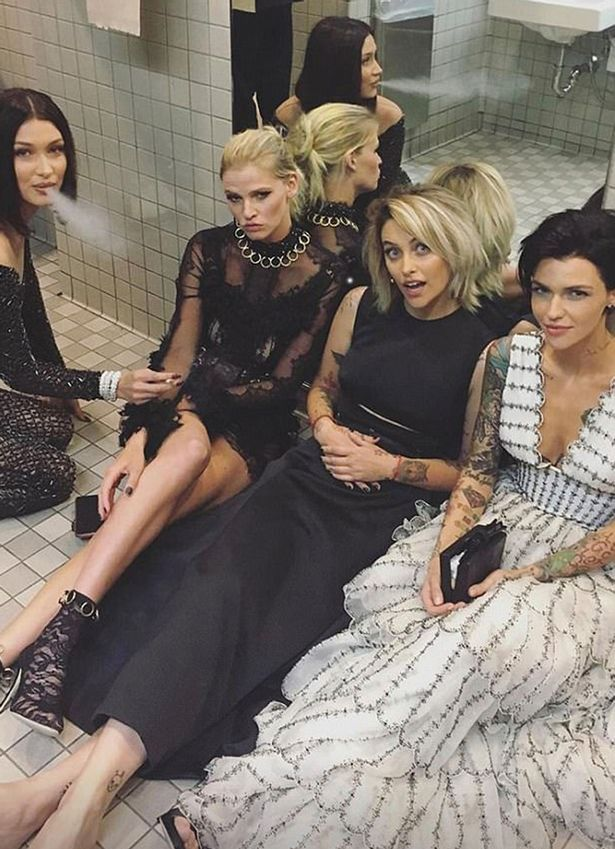 Cancer expert criticises Bella Hadid, Dakota Johnson and others for 'glamorising cigarettes' with smoking selfies at the Met Gala - Mirror Online
