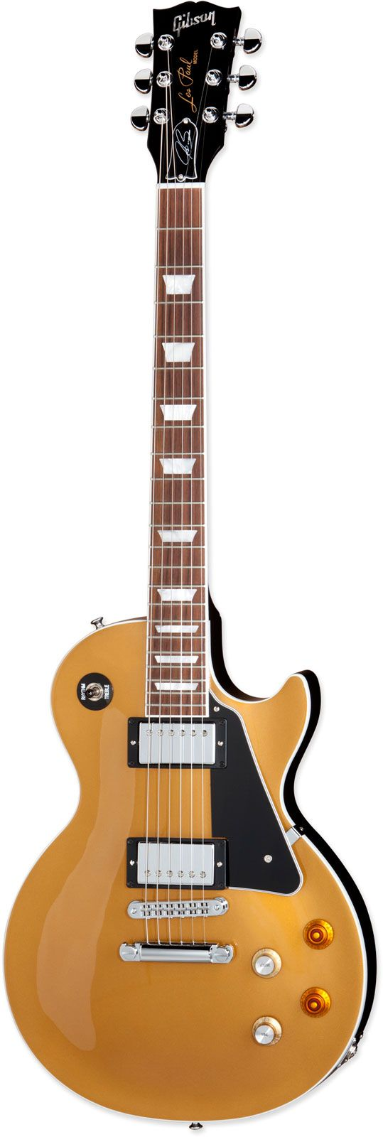 GIBSON JOE BONAMASSA LES PAUL STANDARD GOLD TOP BLACK