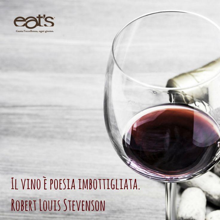 Il vino è poesia imbottigliata. #wine #glass #quotes #frasi #vino