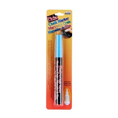 Bistro Chalk Marker Fine Point-Fluorescent Light Blue, Multicolor